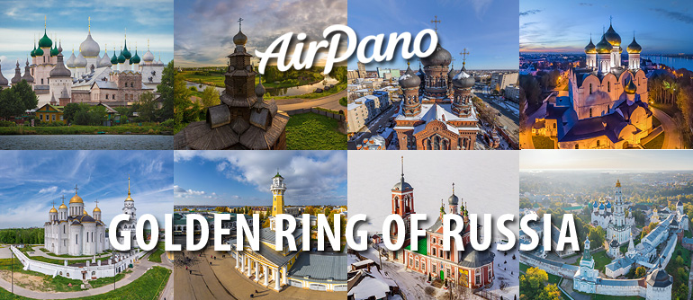 Golden Ring of Russia   360 Aerial Panorama   VR Virtual Tours ... on the frank house on the map, german surnames map, kolb russia families, volga region map, ancient nubia map, frank's map, volga river map, kukkus german map,