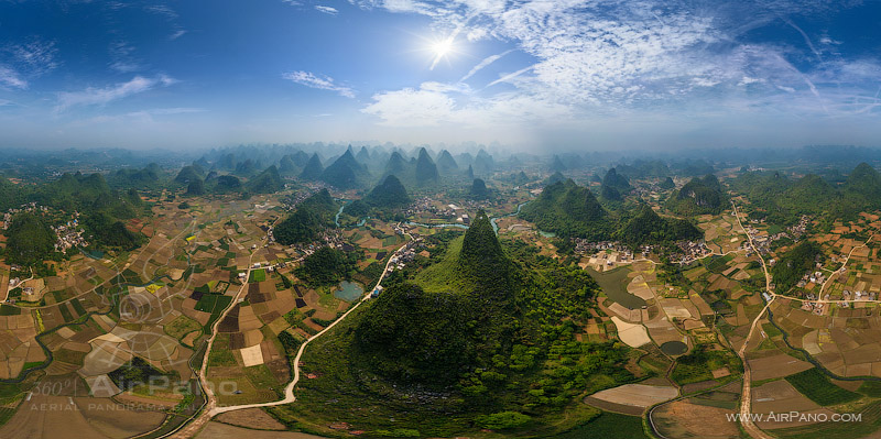 Guilin mountains