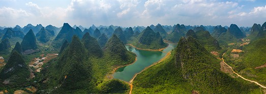 Guilin National Park, China - AirPano.com • 360 Degree Aerial Panorama • 3D Virtual Tours Around the World