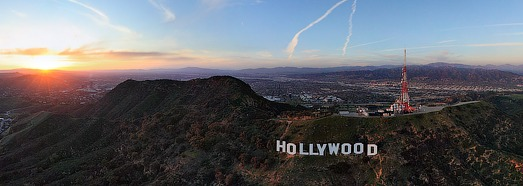 Hollywood, USA - AirPano.com • 360 Degree Aerial Panorama • 3D Virtual Tours Around the World