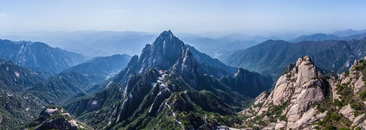 Huangshan mountains, China - AirPano.com • 360 Degree Aerial Panorama • 3D Virtual Tours Around the World