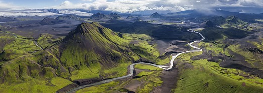 Iceland, the best aerial panoramas - AirPano.com • 360 Degree Aerial Panorama • 3D Virtual Tours Around the World