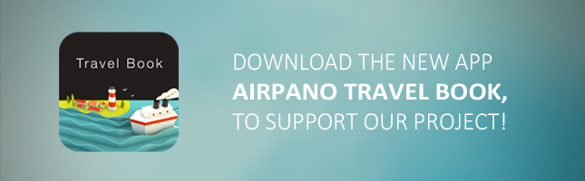 New iPad application AirPano Travel Book