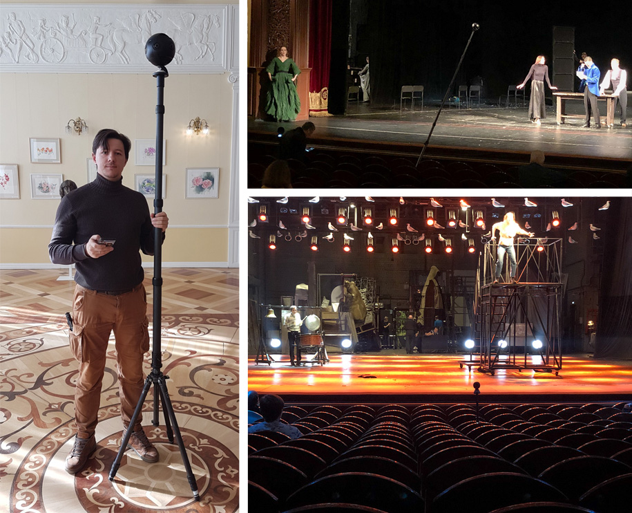 Theatre Day. Virtual 360-tour to four Russian theatres