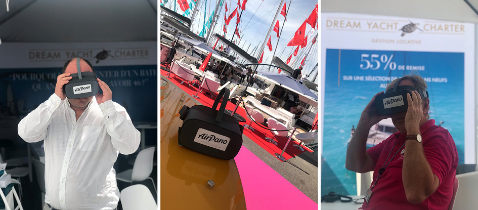 AirPano & Cannes Yachting Festival 2019