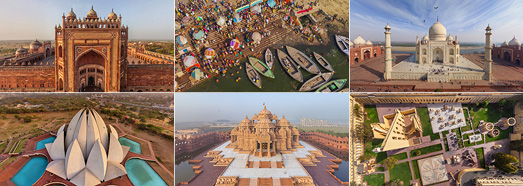 India - AirPano.com • 360 Degree Aerial Panorama • 3D Virtual Tours Around the World