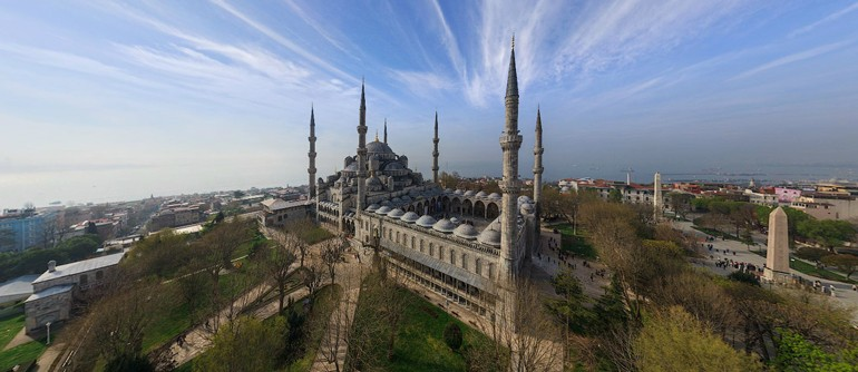 Most Famous Mosques In Istanbul Turkey