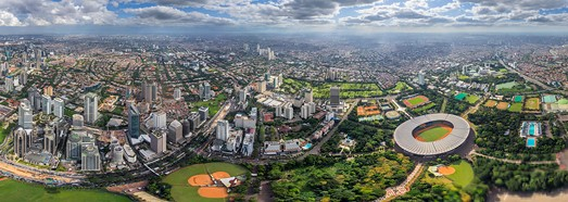 Jakarta, Indonesia - AirPano.com • 360 Degree Aerial Panorama • 3D Virtual Tours Around the World