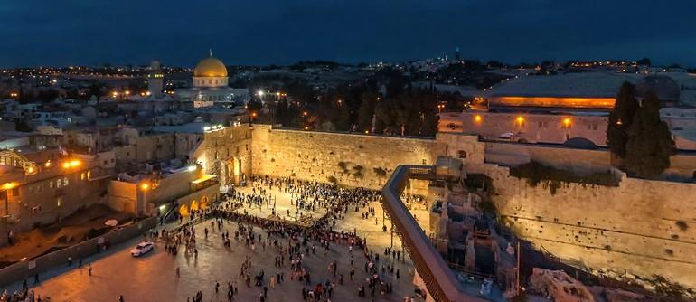 Holy Places Of Jerusalem Israel