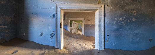 Kolmanskop Ghost Town, Namibia - AirPano.com • 360 Degree Aerial Panorama • 3D Virtual Tours Around the World