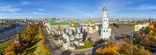 Moscow Kremlin, Russia - AirPano.com • 360 Degree Aerial Panorama • 3D Virtual Tours Around the World
