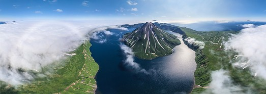 North Kurile Islands, Russia - AirPano.com • 360 Degree Aerial Panorama • 3D Virtual Tours Around the World