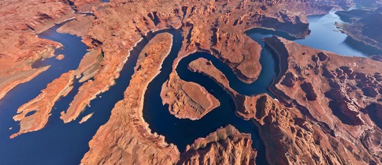 Lake Powell, Utah-Arizona, USA