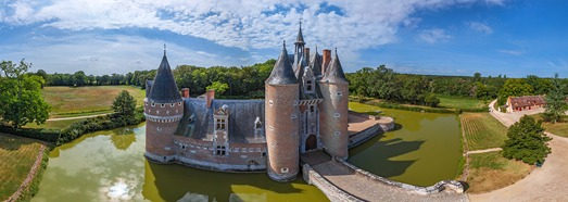 Chateaux of the Loire Valley, France. Part III - AirPano.com • 360 Degree Aerial Panorama • 3D Virtual Tours Around the World