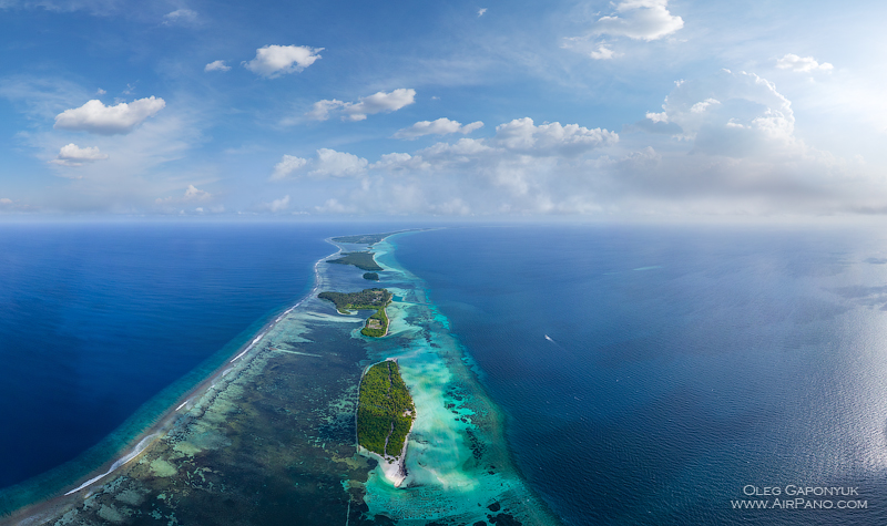 Southern Maldives. Islands Bokaiffushi and Kalhaidhoo