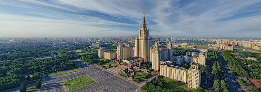 Moscow State University - AirPano.com • 360 Degree Aerial Panorama • 3D Virtual Tours Around the World