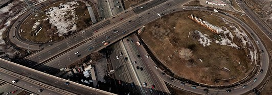Moscow Automobile Ring Road (MKAD), Russia - AirPano.com • 360 Degree Aerial Panorama • 3D Virtual Tours Around the World