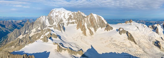 Mont Blanc, Italy-France. Part II - AirPano.com • 360 Degree Aerial Panorama • 3D Virtual Tours Around the World