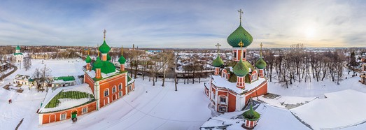 Golden Ring of Russia, Pereslavl-Zalessky - AirPano.com • 360 Degree Aerial Panorama • 3D Virtual Tours Around the World