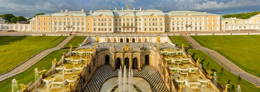 Peterhof, St. Petersburg, Russia - AirPano.com • 360 Degree Aerial Panorama • 3D Virtual Tours Around the World