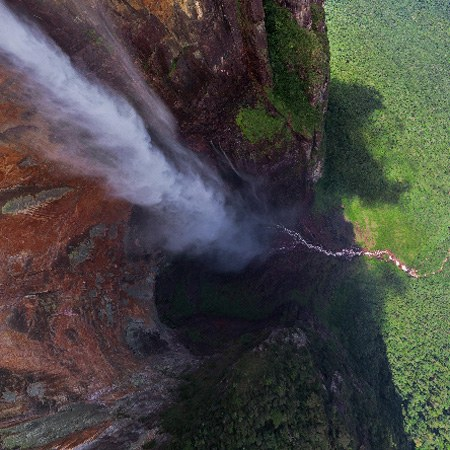 Angel Waterfall of Venezuela - The World's Highest Waterfall