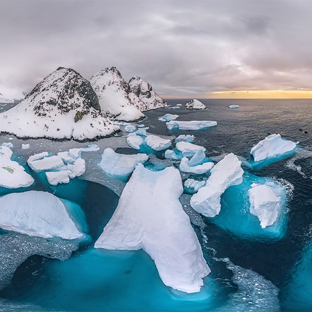 Antarctic expedition of AirPano, Part I