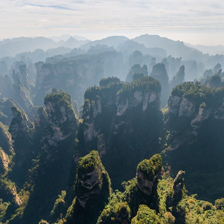 Zhangjiajie National Forest Park (Avatar Mountains), China