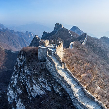 Great Wall of China. Jiankou and Jiaoshan