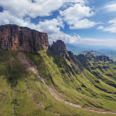 The Drakensberg - Dragon Mountains, South Africa