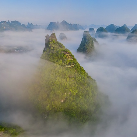 Guilin Mountains, China