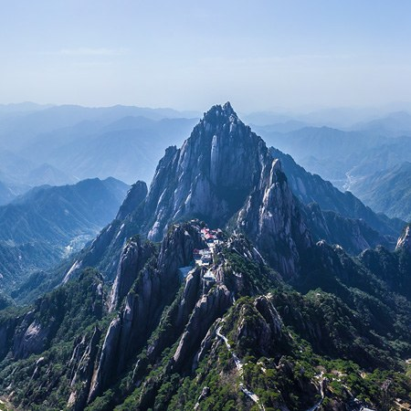 Huangshan mountains, China