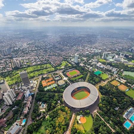 Seville Spain Jakarta Indonesia