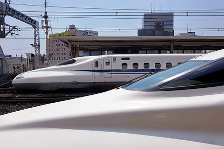 Shinkansen. Japan's bullet train