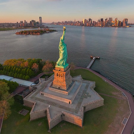 Statue of Liberty, Liberty Island, New York, USA