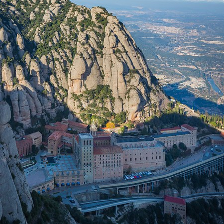 Abbey of Montserrat, Spain