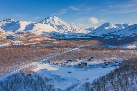 Snow Valley. Freeride in Kamchatka, Russia