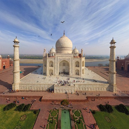 Taj Mahal, India. Part I