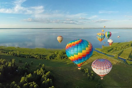 The Golden Ring of Russia Air Balloon festival. Part I