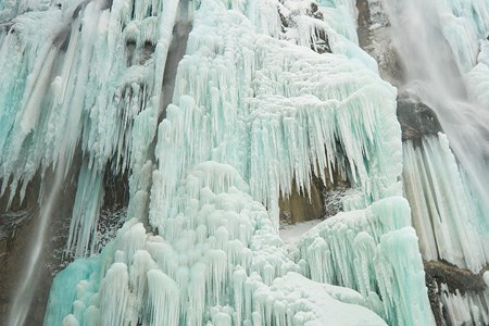 Plitvice Lakes National Park in Winter, Croatia. Teaser