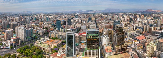 Santiago, Chile - AirPano.com • 360 Degree Aerial Panorama • 3D Virtual Tours Around the World