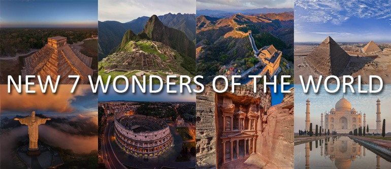 Map Of Georgia 7 Wonders.New 7 Wonders Of The World