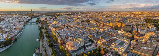 Seville, Spain - AirPano.com • 360 Degree Aerial Panorama • 3D Virtual Tours Around the World