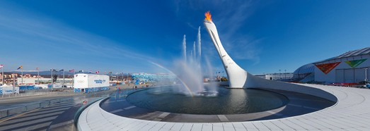 XXII Olympic Winter Games - AirPano.com • 360 Degree Aerial Panorama • 3D Virtual Tours Around the World