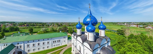Golden Ring of Russia, City of Suzdal - AirPano.com • 360 Degree Aerial Panorama • 3D Virtual Tours Around the World