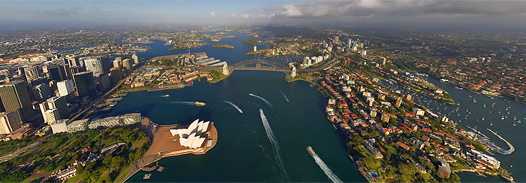 Sydney, Australia, 2008 - AirPano.com • 360 Degree Aerial Panorama • 3D Virtual Tours Around the World
