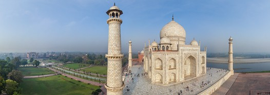 Taj Mahal, India. Part II • AirPano.com • 360° Aerial Panoramas • 360° Virtual Tours Around the World