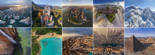 The best panoramas by AirPano. Part 1 - AirPano.com • 360 Degree Aerial Panorama • 3D Virtual Tours Around the World