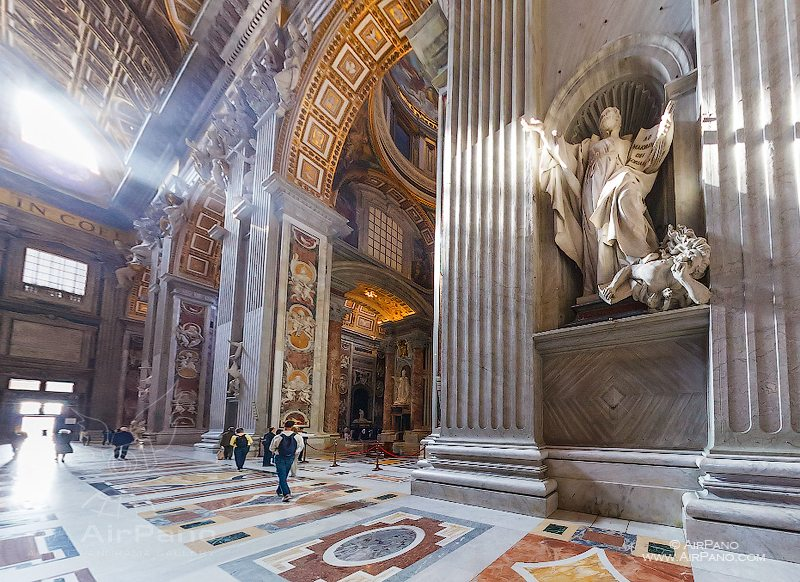 Interior of St. Peter's Basilica