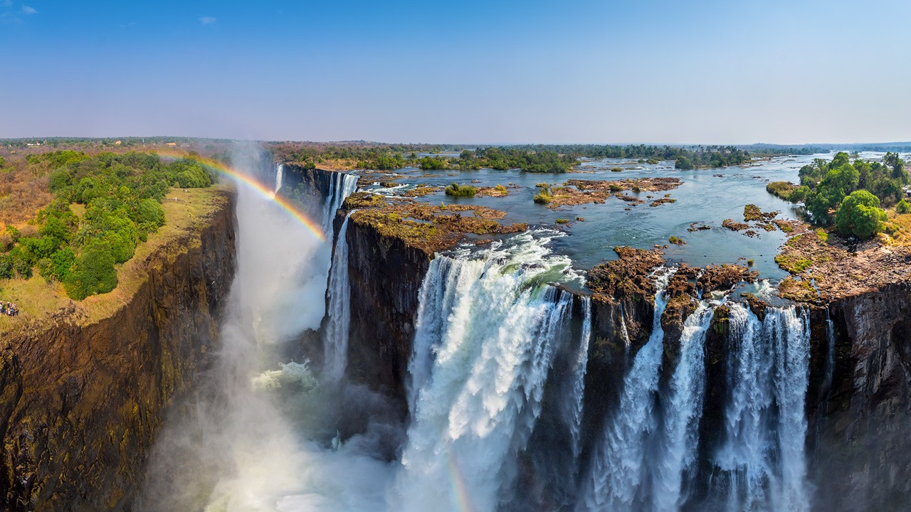 Victoria Falls Zambia Zimbabwe Part I