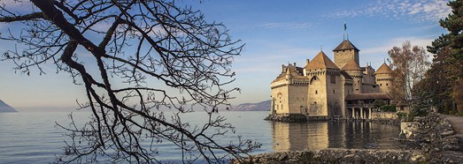 Chillon Castle, Switzerland - AirPano.com • 360 Degree Aerial Panorama • 3D Virtual Tours Around the World